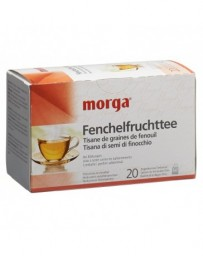 MORGA fenouil fruit tisane sach 20 pce