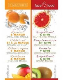 FACE FOOD masque de beauté avec apricot et pamplemousse 2 x 6 ml