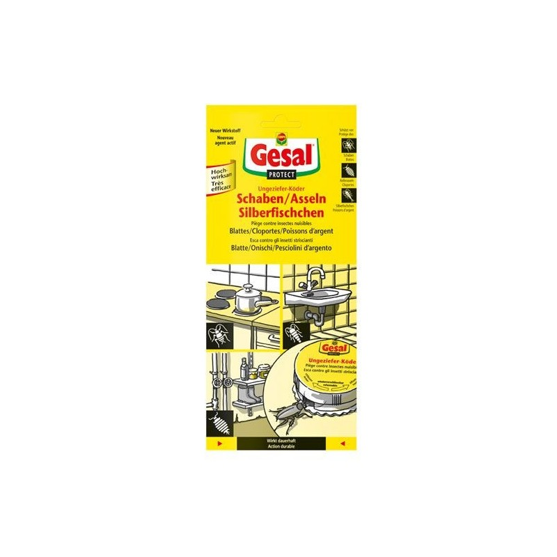 GESAL PROTECT piège contre insecte nuisibles 2 pce