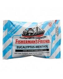 FISHERMAN'S FRIEND eucalyptus-menthol pastilles sans sucre sach 25 g