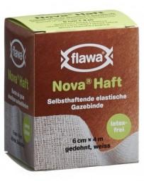 FLAWA NOVA HAFT bande gaze élast 6cmx4m s latex