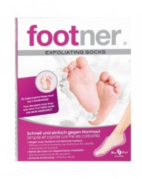 FOOTNER set pied exfolia socks contre durillons