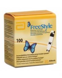 ABBOTT FREESTYLE bandelettes test 100 pce
