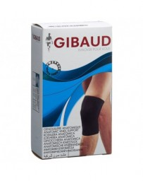 GIBAUD genouillère anatomique L 45-51.5cm noir