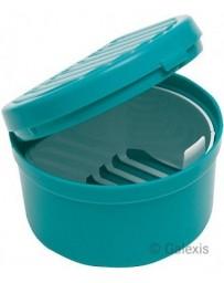HAUSELLA dental box avec garniture turquoise