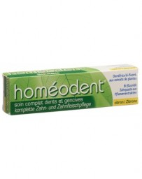 HOMEODENT soin dentifrice compl citron tb 75 ml