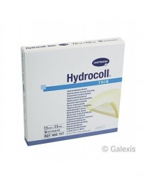 HYDROCOLL THIN pans hydrocolloide 7.5x7.5cm 10 pce