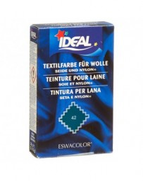 IDEAL laine color pdr no42 vert foncé 30 g