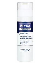 NIVEA MEN mousse à raser sensitive 200 ml