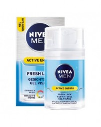 NIVEA MEN Active Energy Fresh Look Gel Visage 50 ml