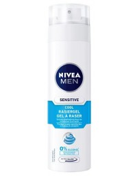 NIVEA Men Sensitive Cool Gel à raser 200 ml