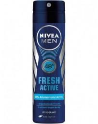 NIVEA Male déo aéros Fresh Active spr 150 ml