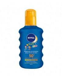 NIVEA SUN kids spray fps 50 farbig 200 ml