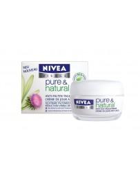 NIVEA VISAGE Pure&Nat crème jour anti-age 50 ml