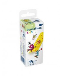 DERMAPLAST KIDS express strips 19x72mm 15 pce