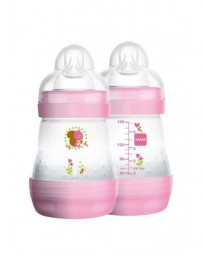 MAM Easy Start Anti-Colic biberon 160ml girl 0+m