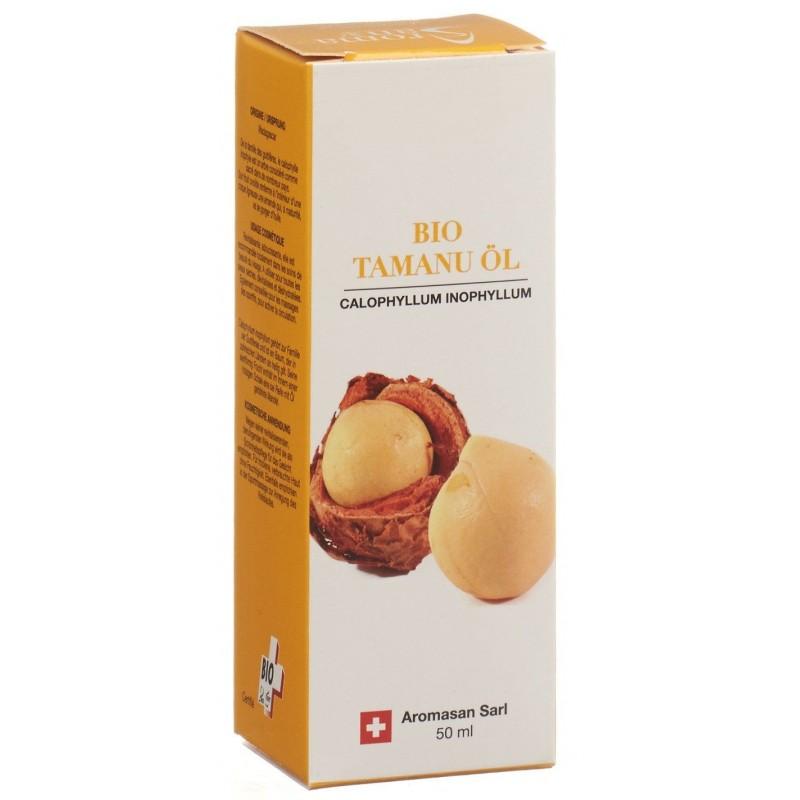 AROMASAN huile végétale de calophyle bio 50 ml
