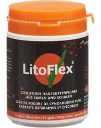 LITOFLEX poudre de cynorhodon d'origine danoise bte 125 g