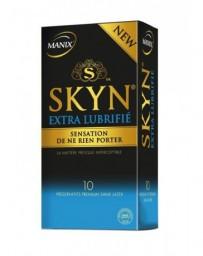 MANIX SKYN préservatifs extra lubrifié 10 pce