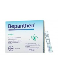 BEPANTHEN Collyre 20 monodos 0.5 ml