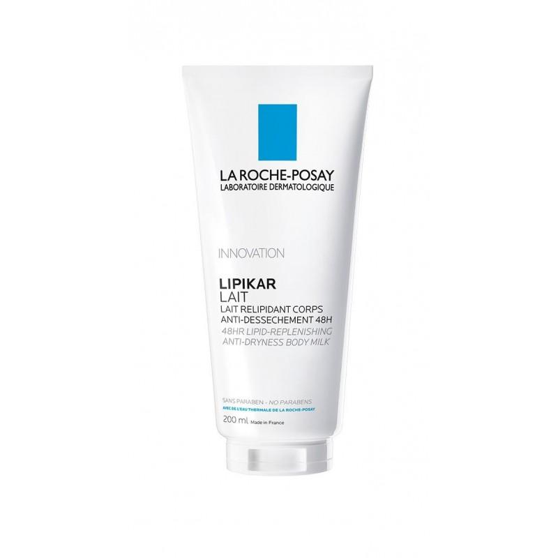 LA ROCHE POSAY Lipikar Lait - Lait hydratant corps anti-dessèchement 200 ml