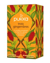 PUKKA Trois Gingembres 20 pce