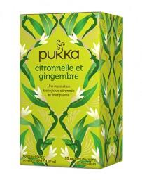 PUKKA Citronnelle et Gingembre 20 pce
