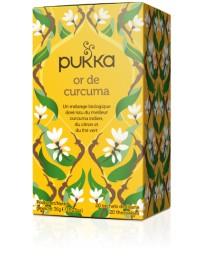 PUKKA Or de Curcuma 20 pce
