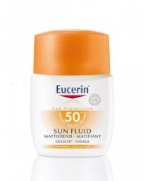 EUCERIN SUN fluid solaire visage IP50+ 50 ml