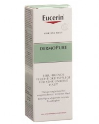 EUCERIN DermoPure Soin Hydratant Apaisant pour La Peau Très Impure 50 ml
