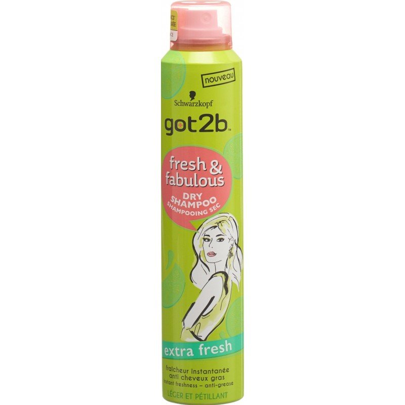 Got2b fresh&fabulous dry shampoo regular 200 ml