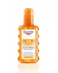 EUCERIN SUN transparent SPF 50 spr 200 ml