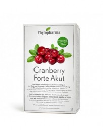 PHYTOPHARMA Cranberry Forte Akut cpr 30 pce