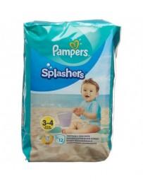 PAMPERS Splashers Gr3-4 emballage avec anse 12 pce