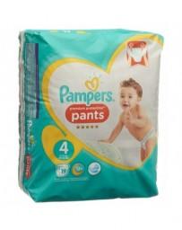 PAMPERS Premium Protection Pants Gr4 9-15kg Maxi emballage avec anse 19 pce