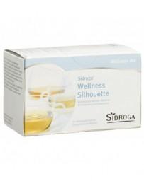 SIDROGA Wellness infusion silhouette sach 20 pce