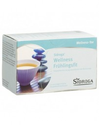 SIDROGA Wellness infusion fitness printemps sach 20 pce