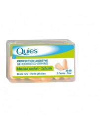 QUIES tampons protection auditive en mousse 6 pce