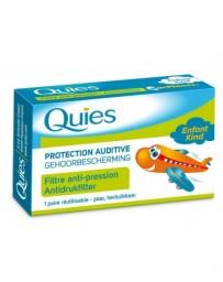 QUIES EARPLANES protect 2 pce