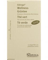 SIDROGA Wellness thé vert 20 pce