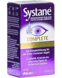 SYSTANE Complete gouttes occulaires lubrifiantes