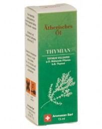 AROMASAN thym à thymol huil ess dans étui bio 15 ml