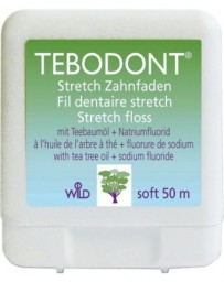 TEBODONT fil dentaire stretch 50m