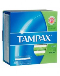 TAMPAX tampons Super 30 pce