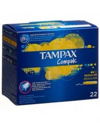 TAMPAX tampons Compak Regular 22 pce