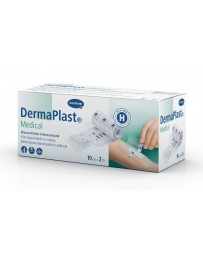 DERMAPLAST Medical Film Imperméable 10 cm x 2 m