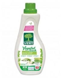 Adoucissant concentré écologique Vegetal Touch 800ml L'ARBRE VERT
