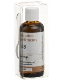 BIOLIGO no 13 préparat d'oligoéléments 100 ml