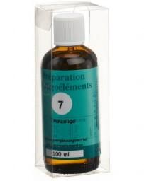 BIOLIGO no 07 préparat d'oligoéléments 100 ml