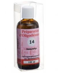 BIOLIGO no 14 préparat d'oligoéléments 100 ml